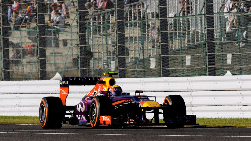 GP Japón: 'Pole' para Webber y Alonso saldrá 8º