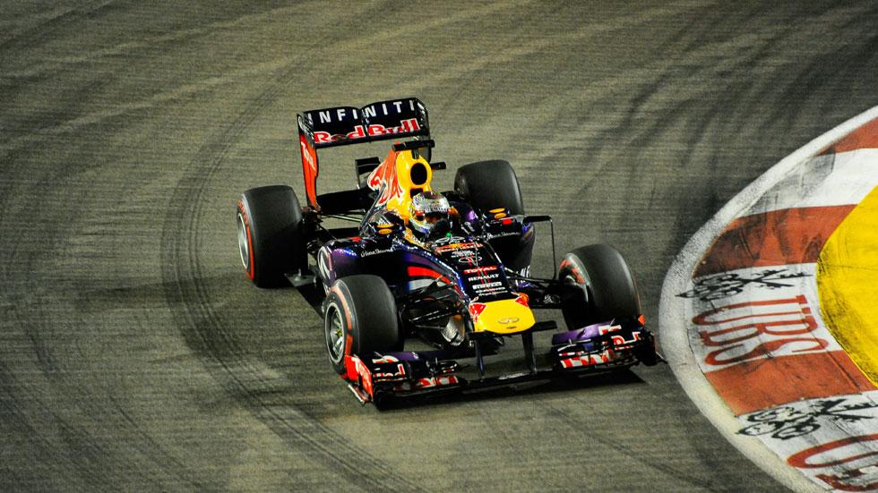 GP Singapur: Vettel vence y aumenta su liderazgo en el Mundial