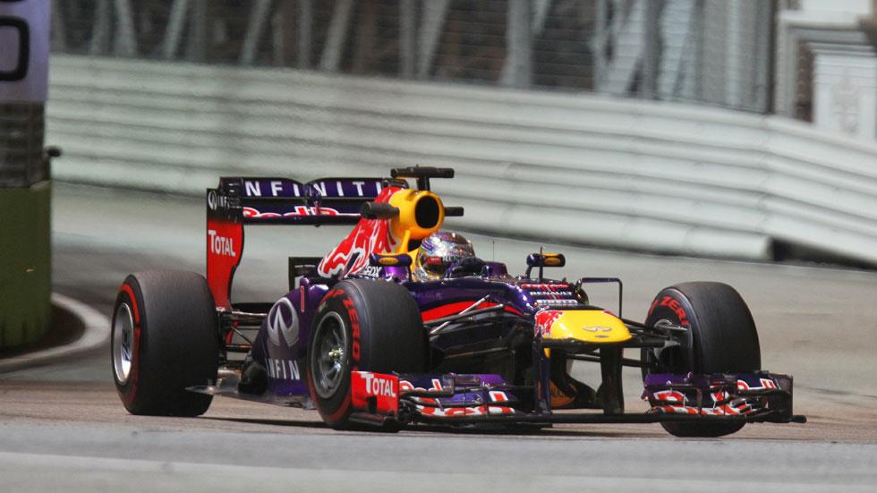 GP Singapur: Vettel saldrá desde la 'pole' y Alonso séptimo