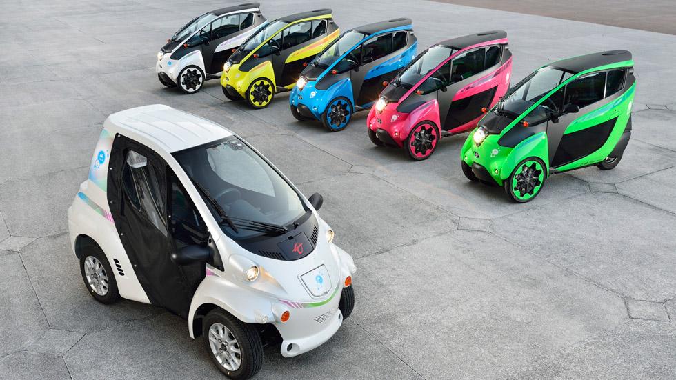 Grenoble, la ciudad laboratorio para los Toyota i-ROAD y COMS