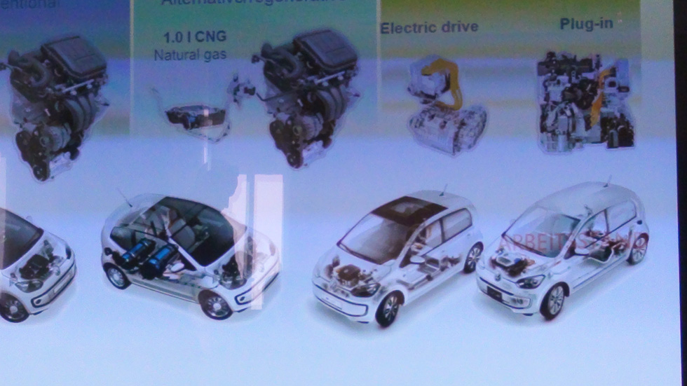 Habrá VW Up Plug-in