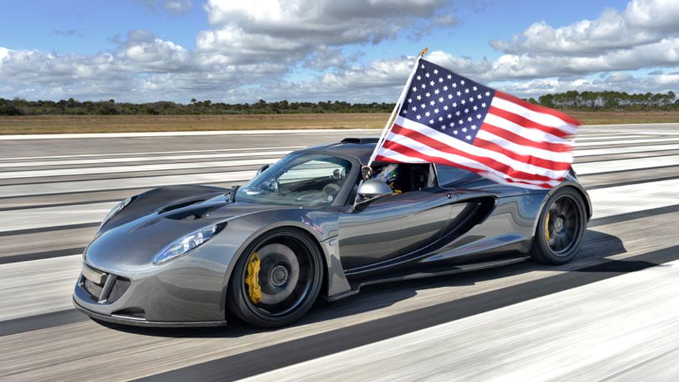 El Hennesey Venom GT alcanza los 435 km/h