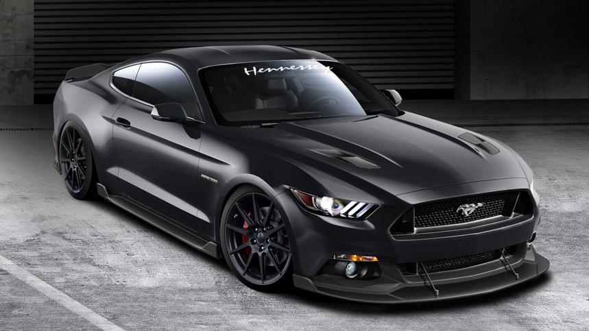 Hennessey Mustang GT 2015, sal y pimienta para el icono