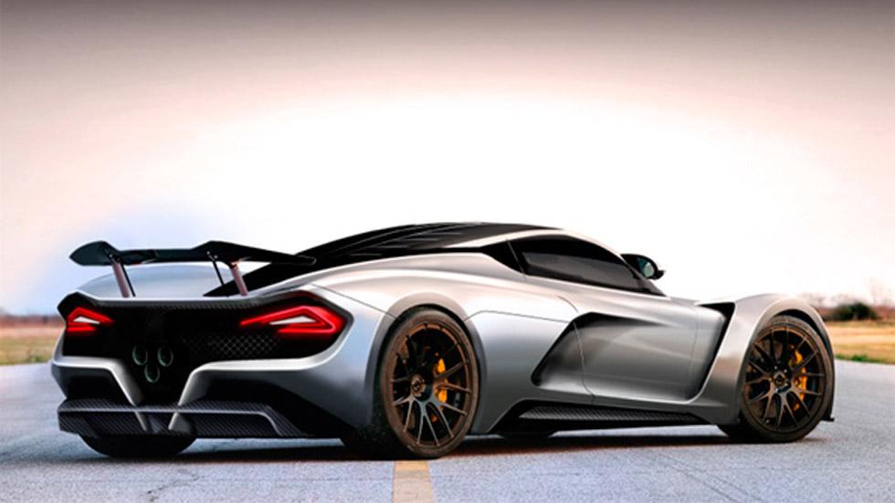 Hennessey Venom GT F5, preparado para ser el más rápido