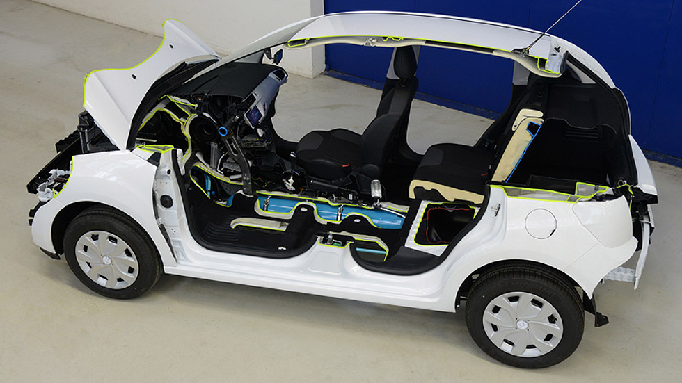 Híbrido con motor de aire, la sorpresa de Peugeot y Citroën