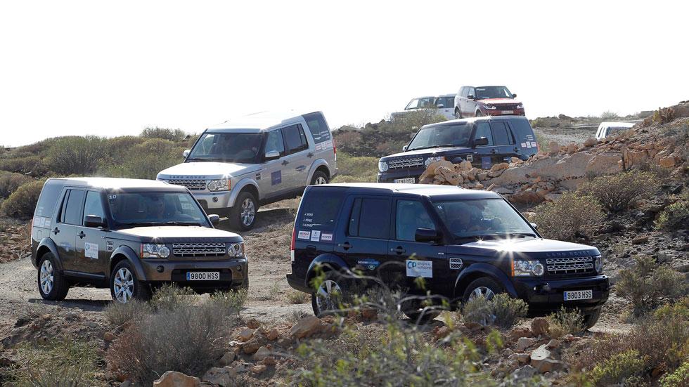 Los hijos de Isabel Preysler, en la Land Rover Discovery Challenge