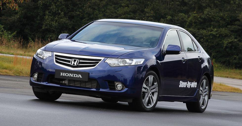 """Prototipo Honda """"steer-by-wire"""": conducimos un volante como un joystick"""