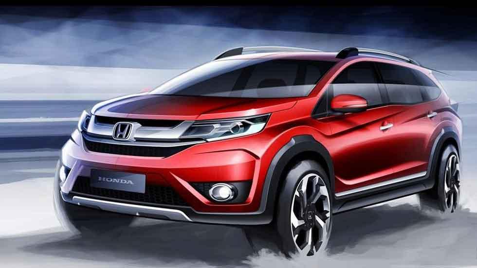 Honda BR-V, nuevo SUV con espacio para siete ocupantes
