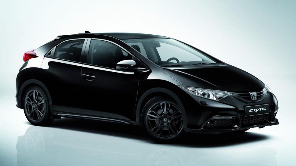 Honda Civic Black Edition, el caballero oscuro