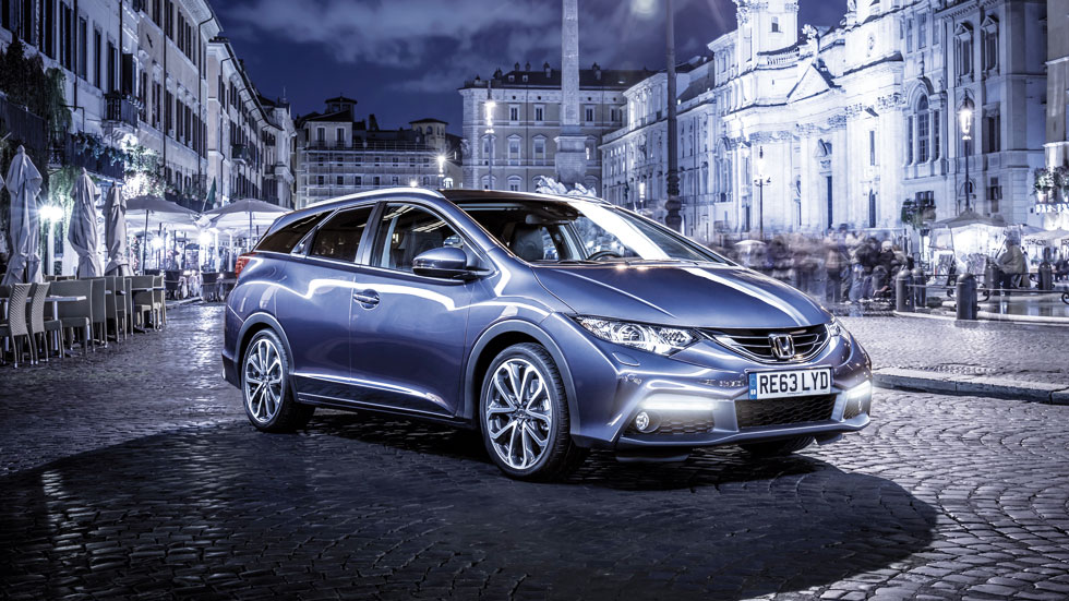 Nuevo Honda Civic Tourer, familiar de vanguardia