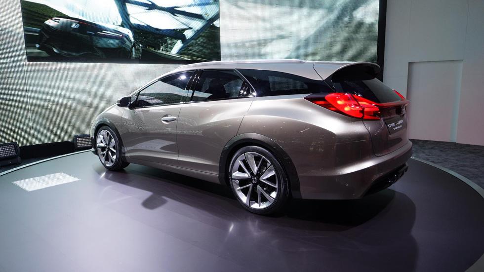 Honda Civic Tourer Concept, familiar de diseño