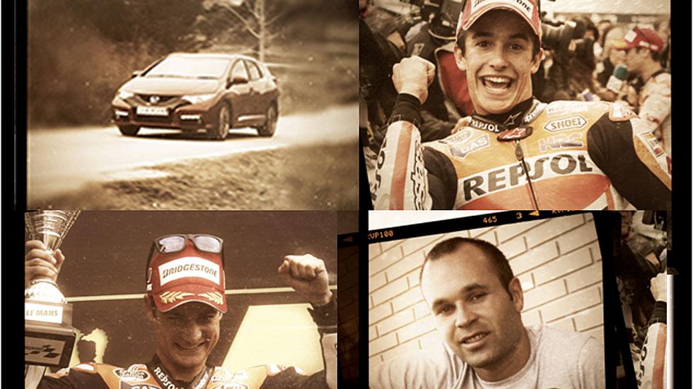'El Poder de los Sueños', con Pedrosa, Márquez, Iniesta y el Honda Civic Tourer