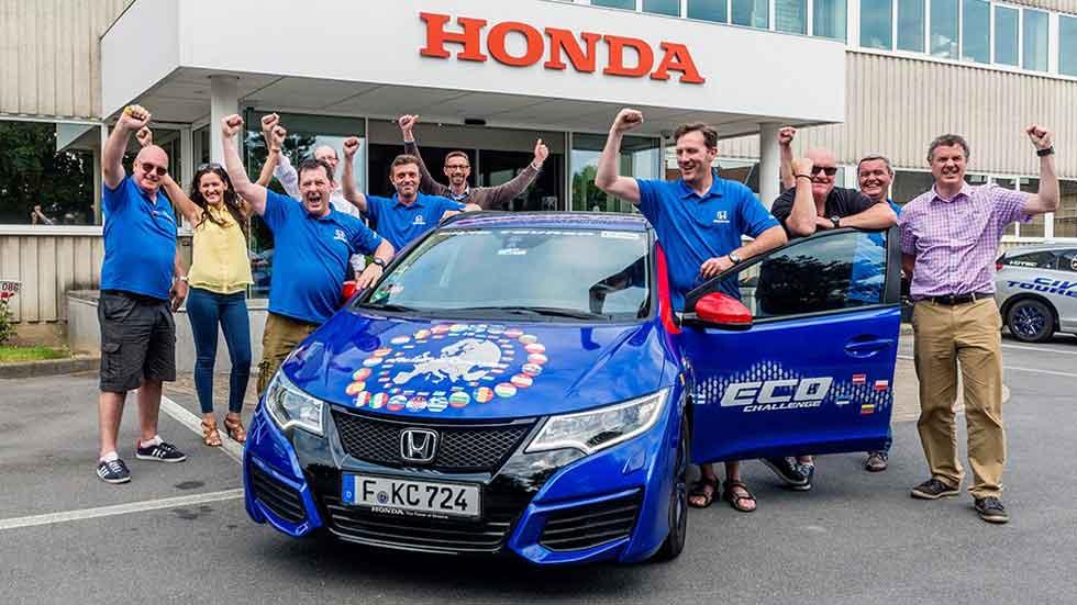 Honda Civic Tourer: 2,82 l/100 km de consumo