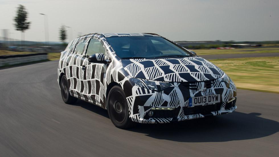 El Honda Civic Tourer estrenará suspensiones traseras adaptativas