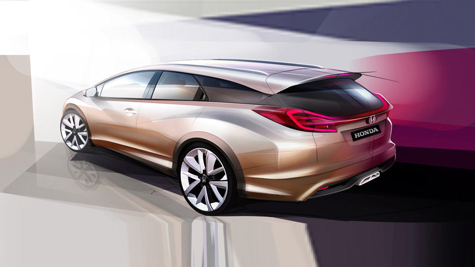 Honda Civic Wagon, para familias futuristas...