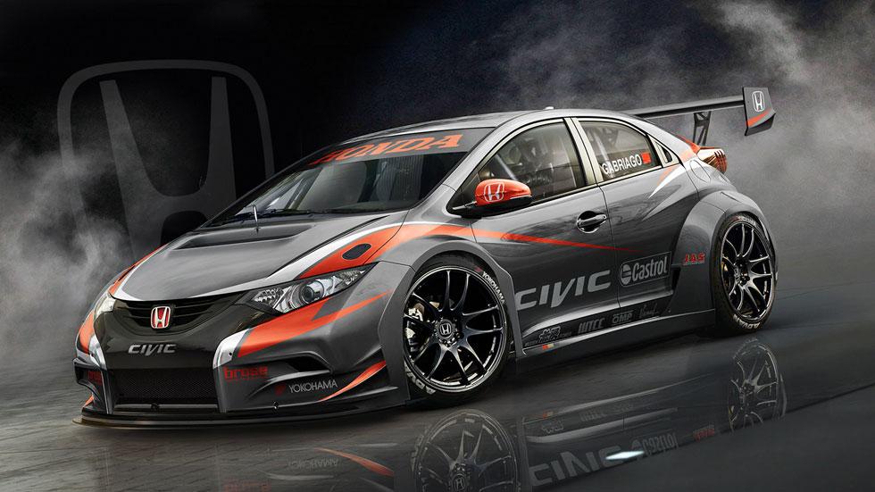 Honda Civic WTCC 2014, primera imagen