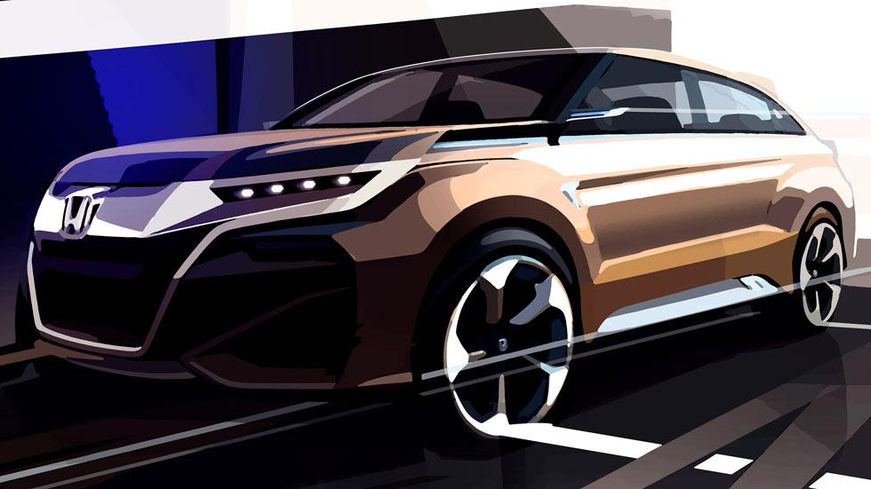 Honda concept SUV para el Salón de Shangai
