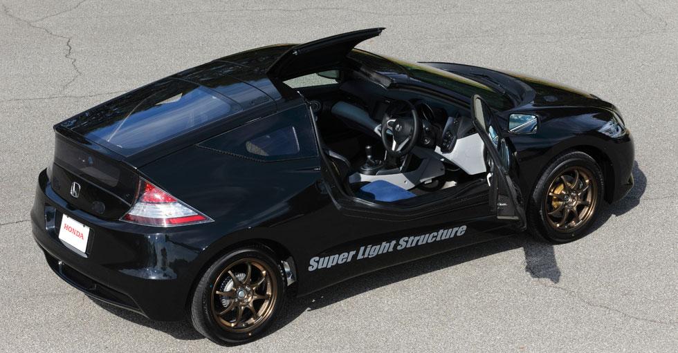Honda CR-Z en fibra de carbono: lo conducimos