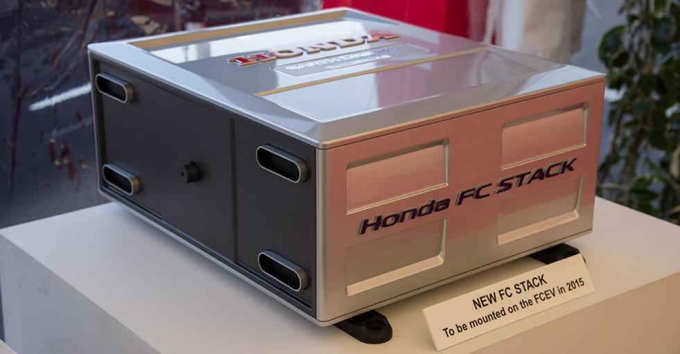 Honda te desvela su próxima pila de combustible