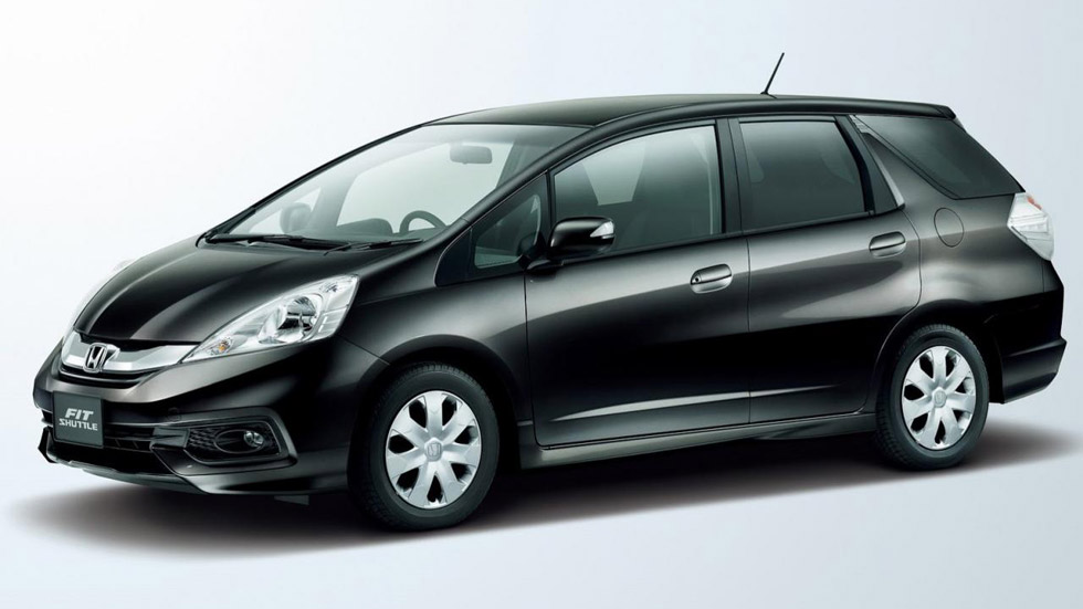 Honda Fit Shuttle, para las familias japonesas
