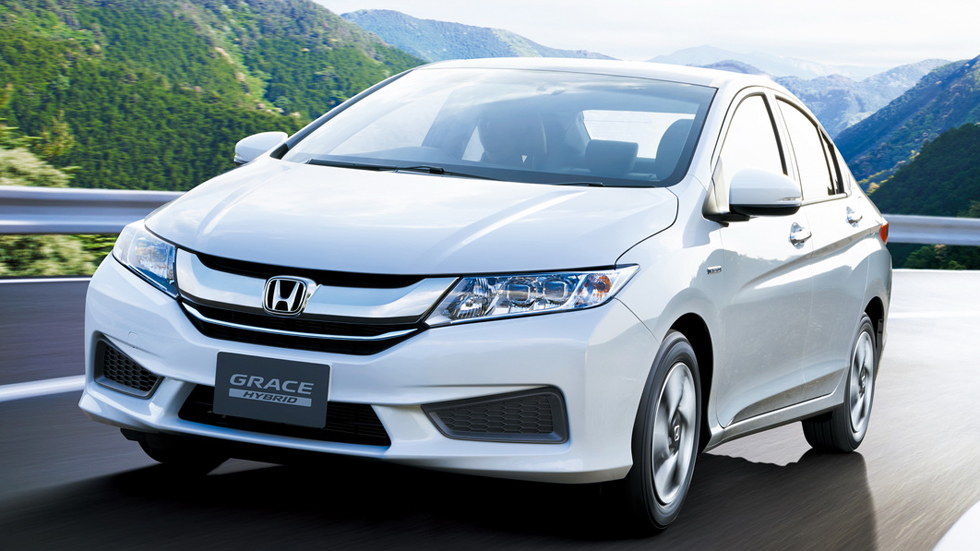 Honda Grace Hybrid, llámalo Jazz Sedán híbrido