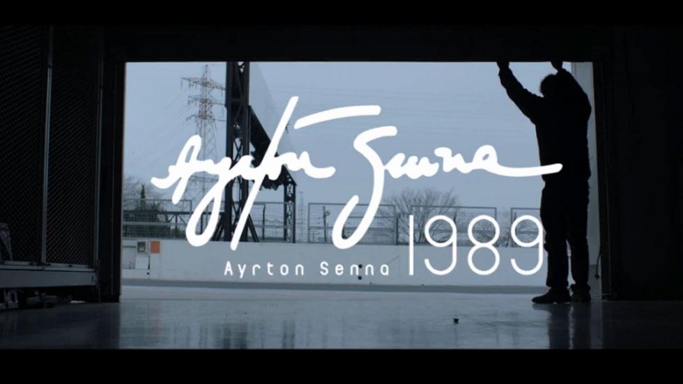 Honda rinde homenaje al mítico Ayrton Senna