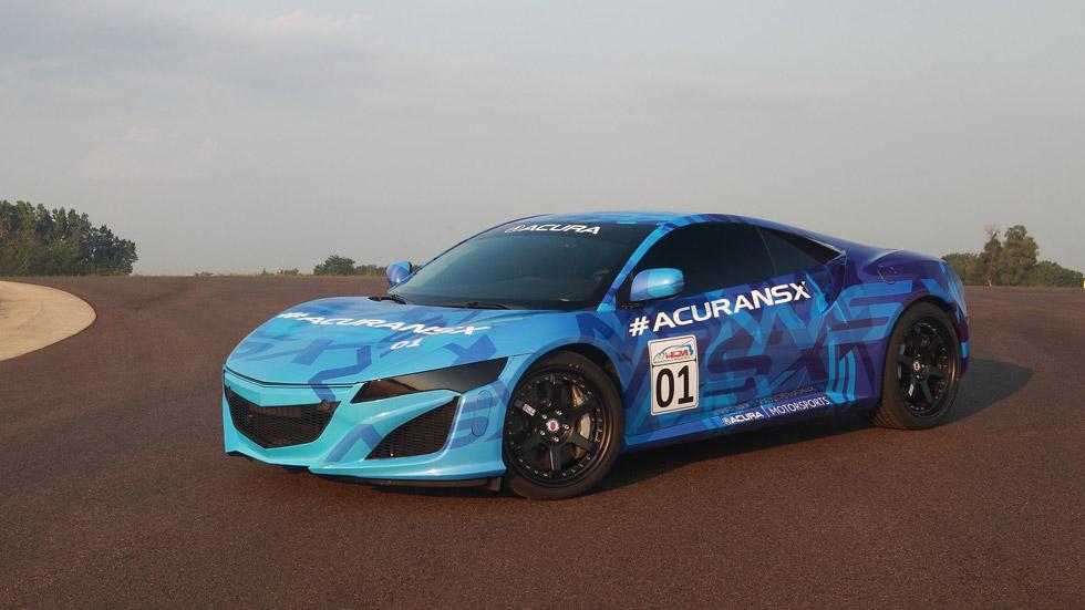 Honda/Acura NSX, el 'samurai' salta al circuito