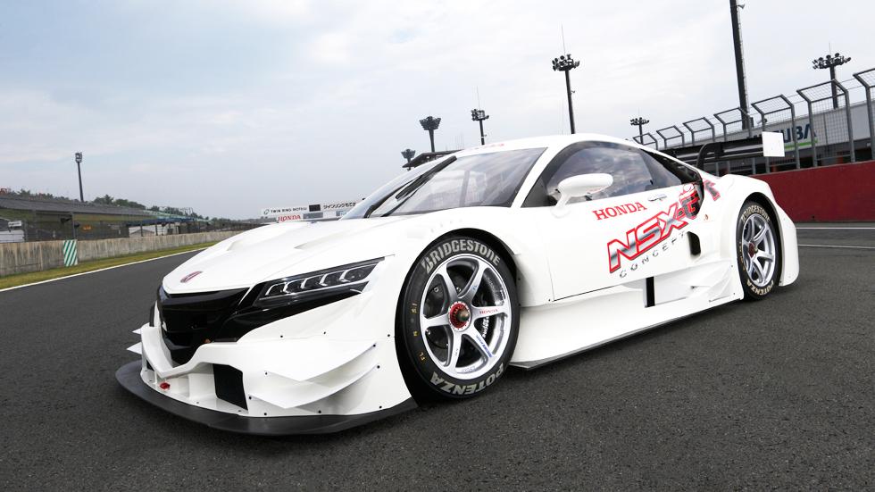 Honda NSX Concept-GT, el samurai de circuitos
