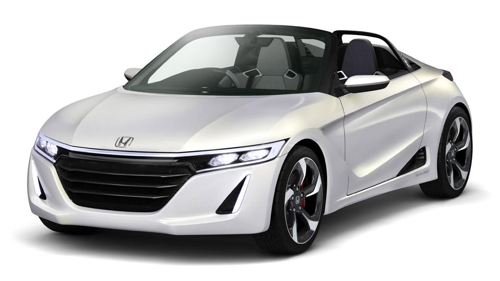 Honda y su nuevo descapotable deportivo, en el Salón de Tokio