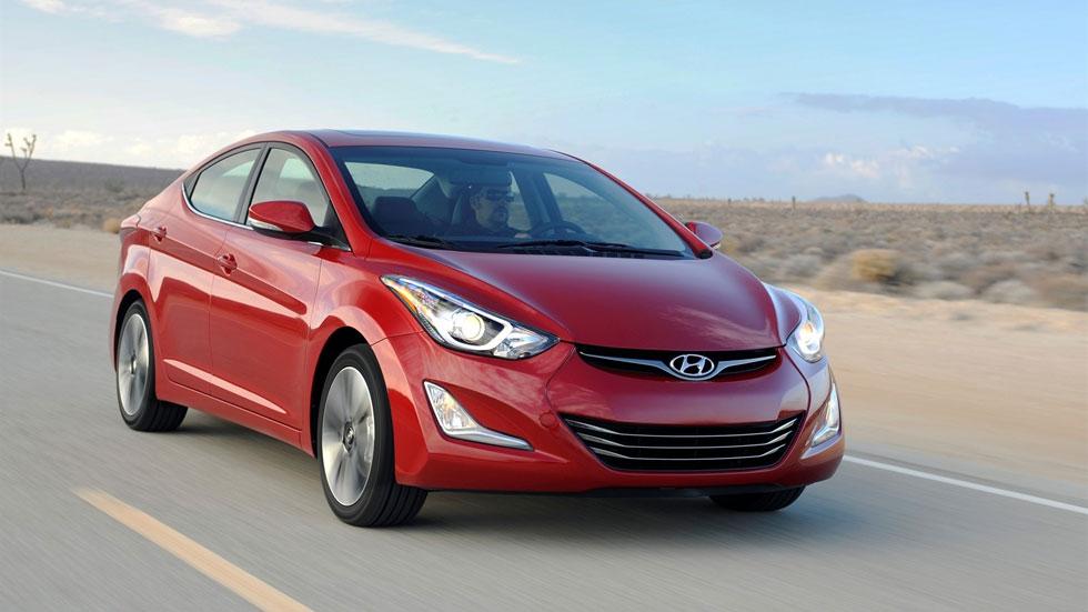 El Hyundai Elantra Sport se prepara el camino en Los Ángeles