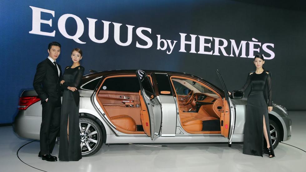Hyundai Equus by Hermès, el exotismo más lujoso