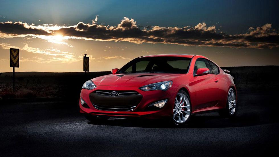 Hyundai Genesis Coupé 2014, deportividad actualizada