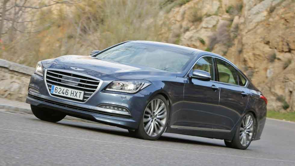 Prueba: Hyundai Genesis Sedán 3.8 GDI V6, 'Lord Confort'