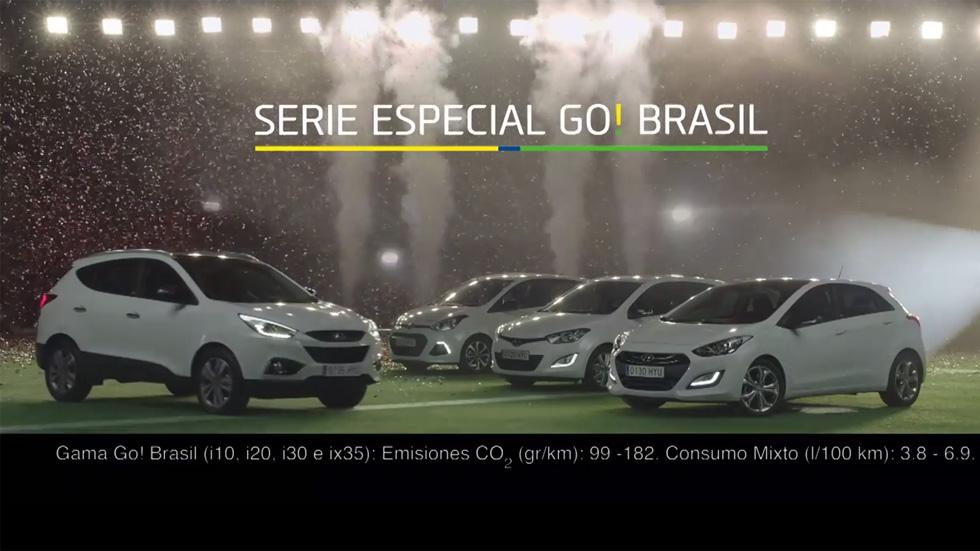 Gama Hyundai Go! Brasil, unos coches muy futboleros