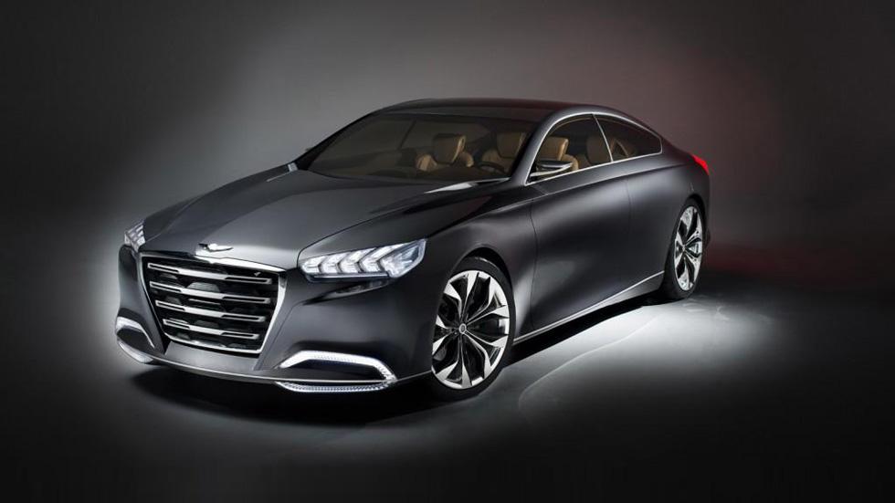 Hyundai HCD-14 Genesis Concept, el Mercedes CLS surcoreano