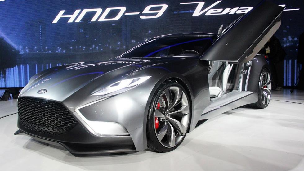 Hyundai HND-9 Concept, el nuevo Génesis Coupé toma forma