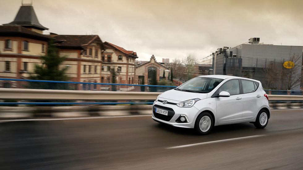 Prueba: Hyundai i10 1.0, vive la ciudad