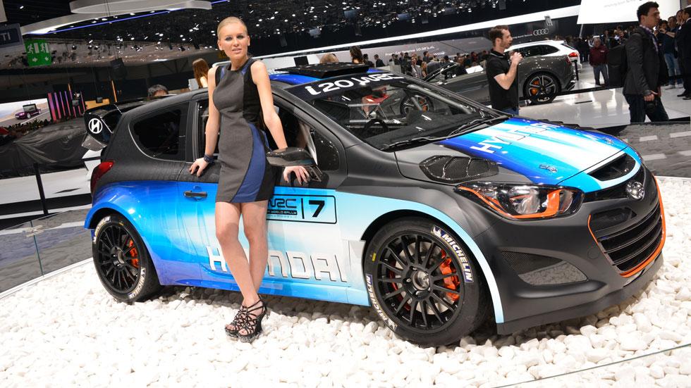 Hyundai i20 WRC, la versión de rallies para 2014