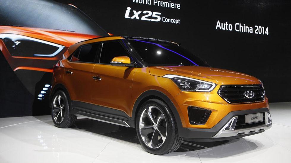 Hyundai ix25 Concept Model, un SUV pequeño sólo para China