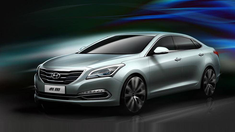 Hyundai Mistra Concept, el hermano pequeño del Sonata