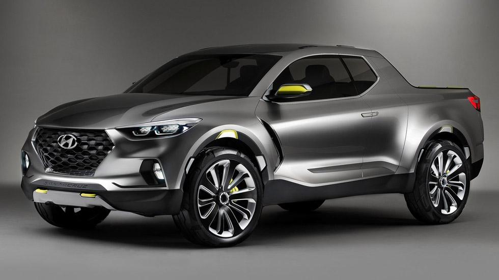 Hyundai Santa Cruz Crossover Truck Concept, reinterpretación pick-up