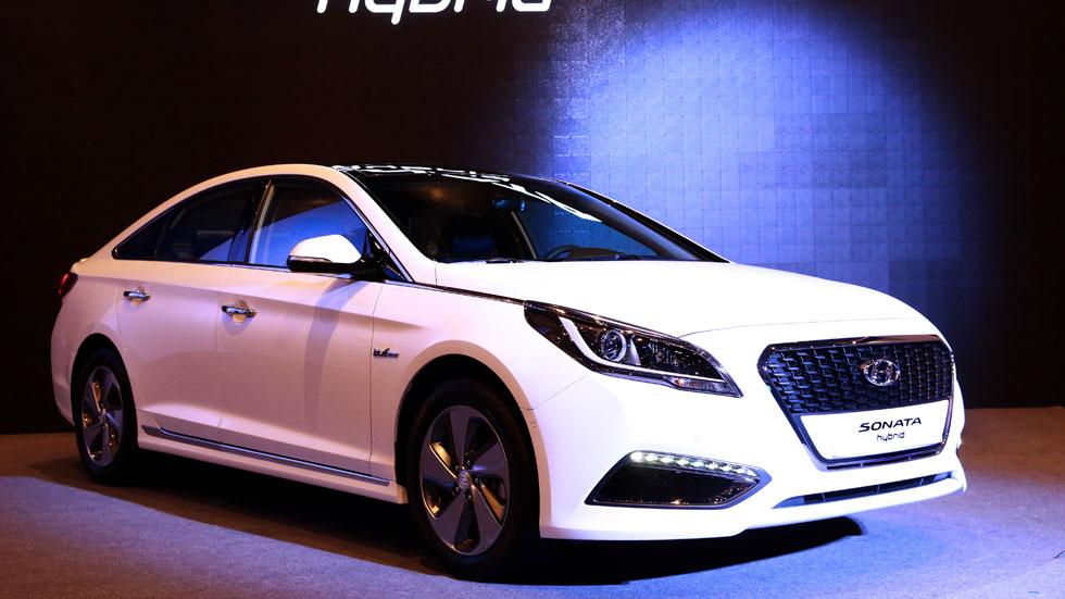 Hyundai da luz verde al Sonata híbrido 2015