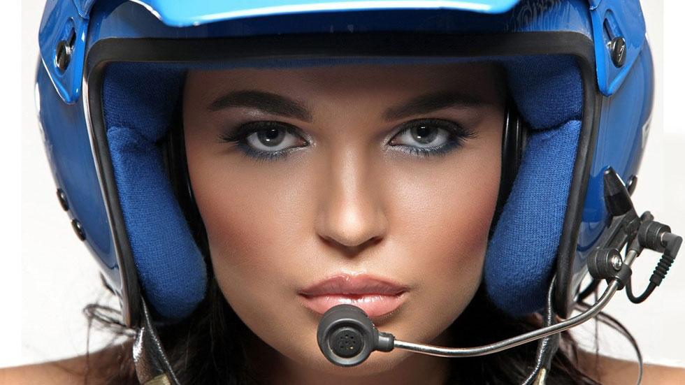 Inessa Tushkanova, de Playboy a piloto de rallyes