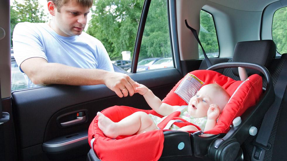 Los sistemas de retención infantil para el coche más seguros
