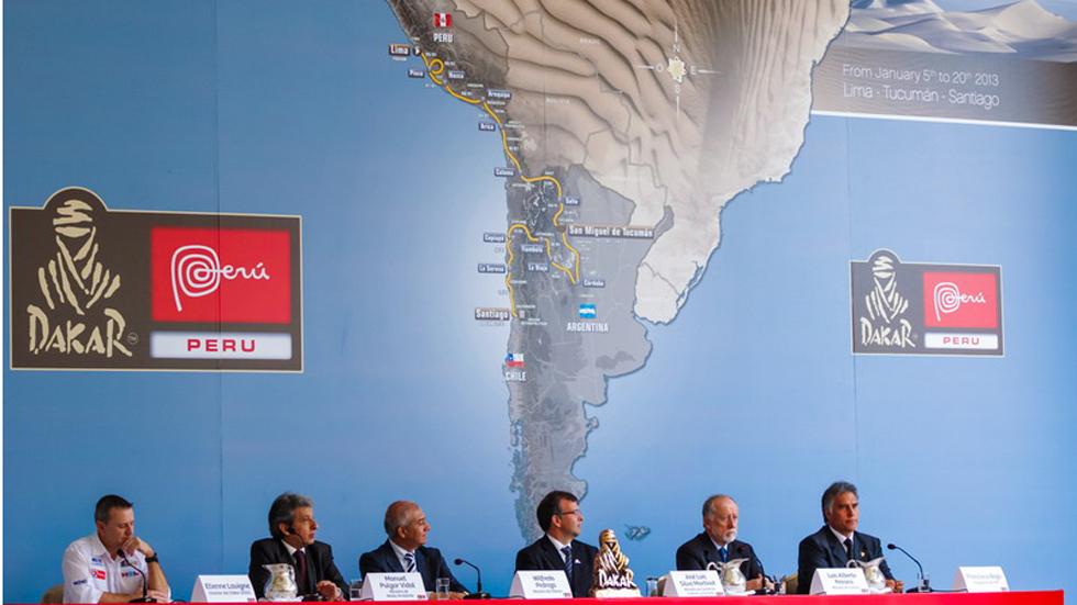 Arranca la 35 edición del Rally Dakar