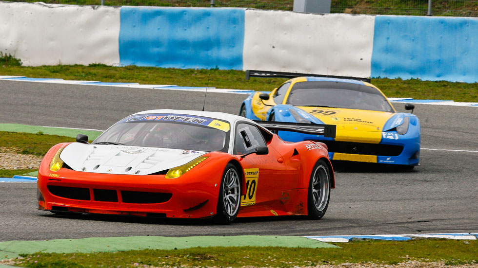 El Internacional de Gran Turismo llega al circuito de Jerez