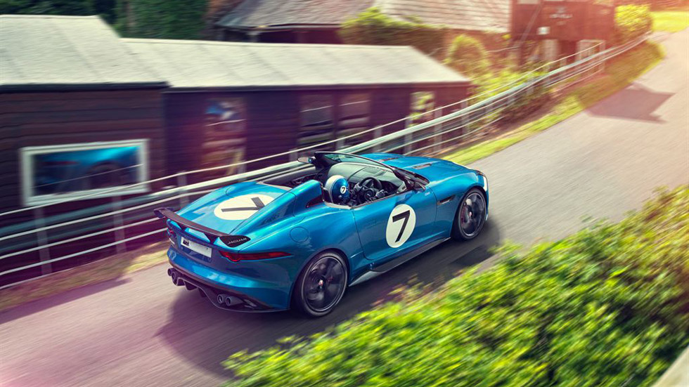 Jaguar Concept Project 7, un F-Type monoplaza para Goodwood