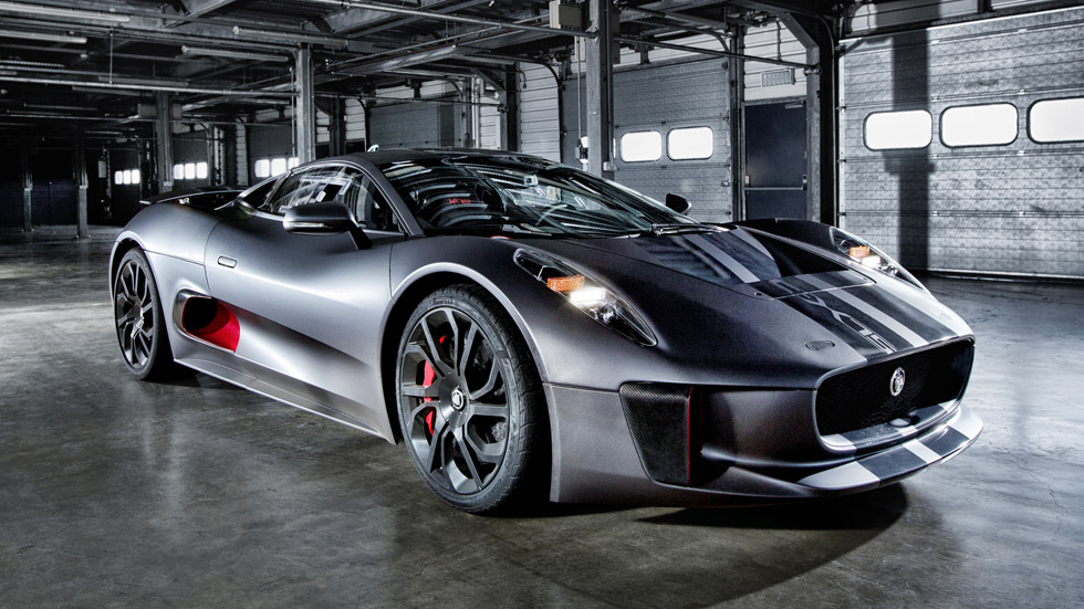 Jaguar C-X75, el superdeportivo híbrido más espectacular