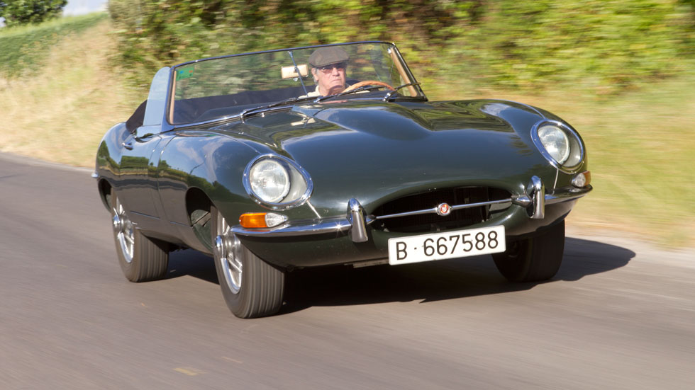 Jaguar E-Type 3,8 Serie I Roadster