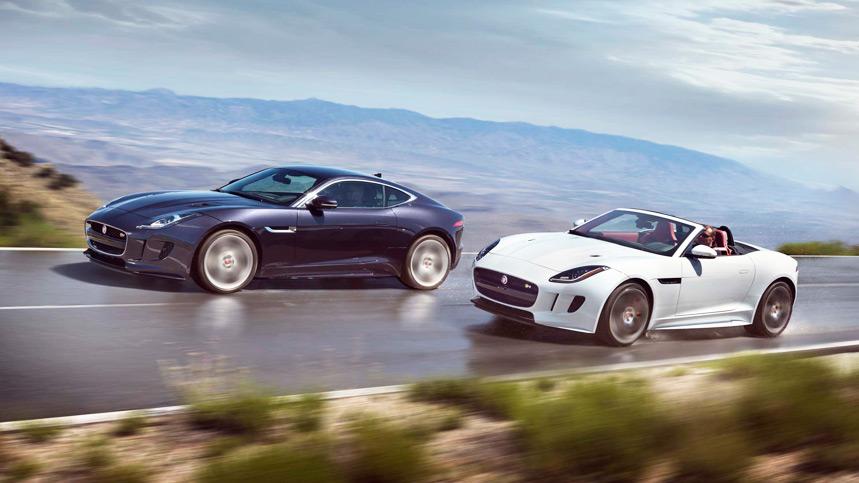 El Jaguar F-Type 2016, con tracción integral y con cambio manual